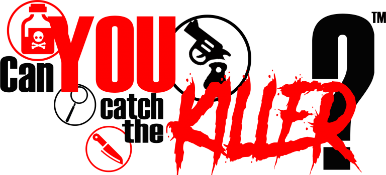 Can You Catch the Killer murder mystery events company logo