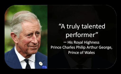 Prince Charles Reviews Murder Mystery company