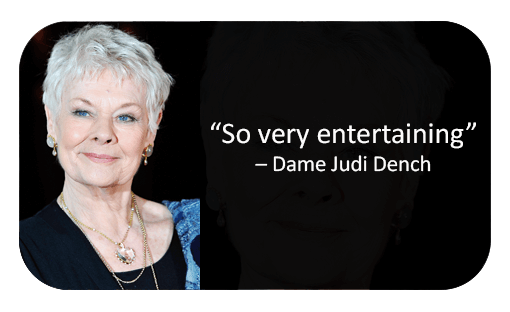 Judi Dench Reviews Murder Mystery company