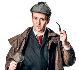 Murder Mystery Sherlock Holmes actor